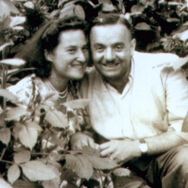 Stefania Podgorska Burzminski and Joe Burzminski (Max Diamant)