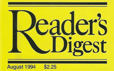 Stefania's Choice Reader's Digest Article
