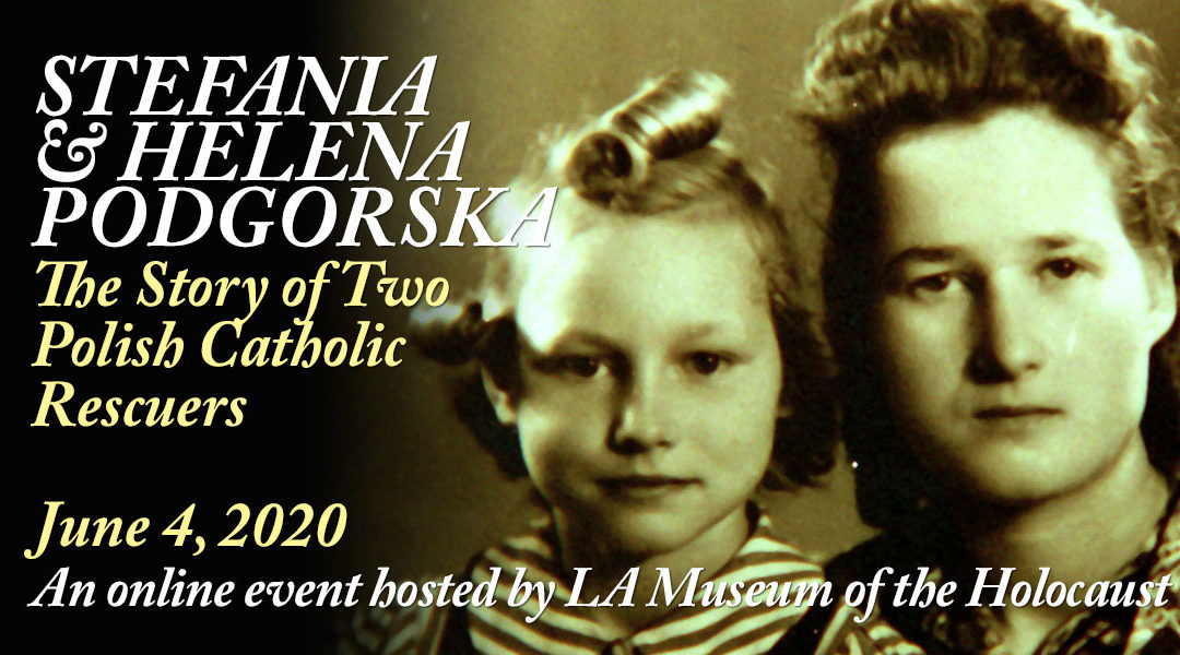 Los Angeles Museum of the Holocaust Online Event